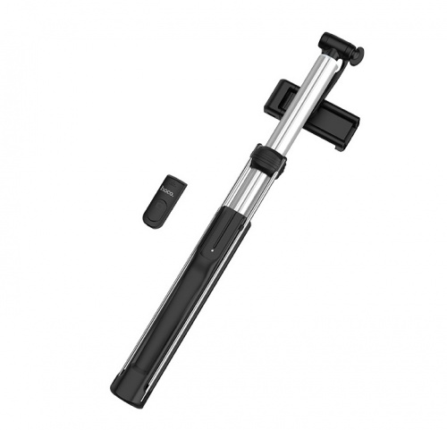 Монопод для селфи Hoco K10B selfie stick with backlight (L=1.6m) черный